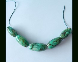 Chrysocolla Bead Strands