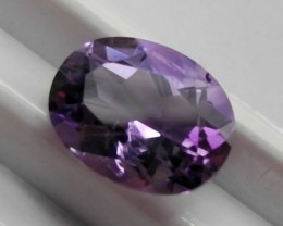 SPARKLING  9.00x7.00MM OVAL STEP CUT AMETHYST