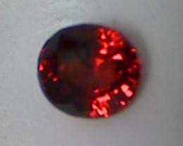 1.3ct Gorgeous Firey Red Hessonite Garnet, IF /VVS, Sri Lanka SL27E
