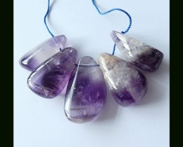 212.5 Cts Free Style Amethyst Beads Strands ,Natural Amethyst Pendant Clust