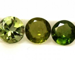 FACETED GREEN TOURMALINE 1.30   CTS  RNG-168