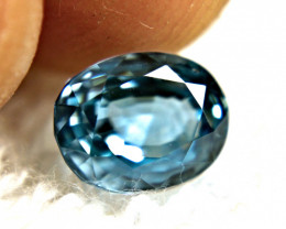 3.39 Carat Blue VVS Zircon - Gorgeous