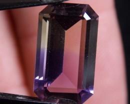 5.53ct Perfect Ametrine Emerald Cut