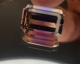 5.53ct Perfect Ametrine Emerald Cut