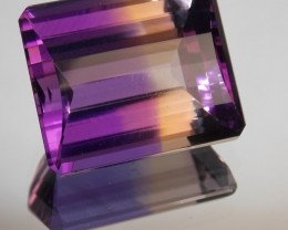 28.65ct Perfect Amertrine Barrel Cut
