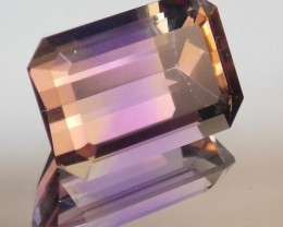 10.07ct Perfect Amertrine Emerald Cut