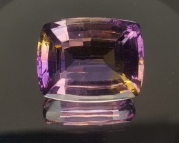 22.18ct Amertrine Cushion Cut