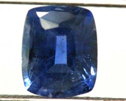 NATURAL UNHEATED SAPPHIRE GEMSTONE 1.25  CTS  TBM- 650     GC