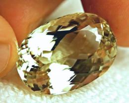 CERTIFIED - 57.57 Carat Natural Himalayan Spodumene / Triphane - Superb