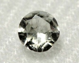 CERTIFIED WHITE UNHEATED SAPPHIRES 0.70  CTS  RNG- 275 GC