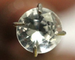 WHITE UNHEATED SAPPHIRES 0.52  CTS  RNG- 278 GC