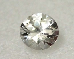 WHITE UNHEATED SAPPHIRES 0.47  CTS  RNG- 473 GC
