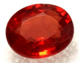 0.88  CTS NATURAL ORANGE  FACETED SAPPHIRES   RNG-273 GC
