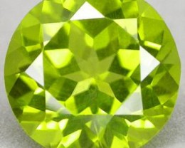 VERY NICE HIGH QUALITY PERIDOT 8 MM