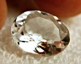 5.46 Carat VVS/Vs White Petalite Gemstone - Lovely