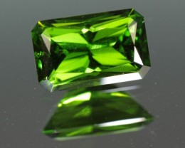 0.92 CT CHROME DIOPSIDE - MASTER CUT!  FABULOUS COLOR!