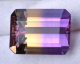11.68 Carat Emerald Octagon Cut Fine Ametrine