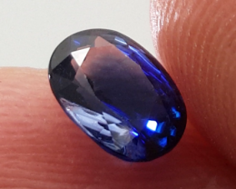 Vivid 1.12ct Natural Blue Sapphire Heated Only From Ceylon!