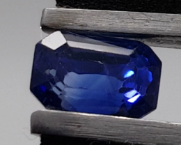 Dazzling 1.78ct SI1 Natural CEYLON TOP Blue Sapphire Heated Only