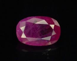 1.10 ct 100% Natural Ruby ~ Jagdalek Afghanistan