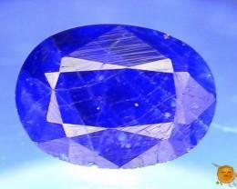 Rare 0.505 ct Natural Hauyne w Pyrite L.8 Collector's Gem