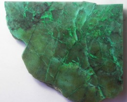 440.0 CTS CHRYSOCOLLA + MALACHITE ROUGH SLAB[F6201]