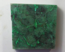 150.0 CTS CHRYSOCOLLA + MALACHITE ROUGH SLAB[F6207]