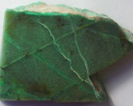 115.0 CTS CHRYSOCOLLA + MALACHITE ROUGH SLAB[F6208]