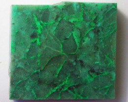 155.0 CTS CHRYSOCOLLA + MALACHITE ROUGH SLAB[F6209]