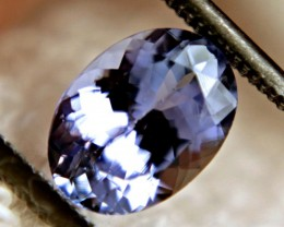 1.68 Carat IF/VVS1 Purplish Blue African Tanzanite