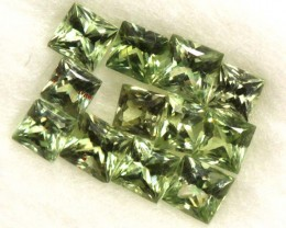 GREEN SAPPHIRE PARCELS 1.0 CTS  GC