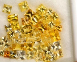 8.05 CTS YELLOW SAPPHIRE PARCELS   GC