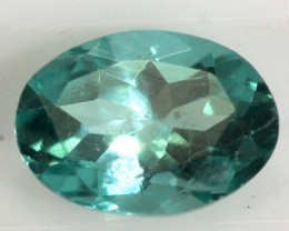 0.75 CTS APATITE FACETED GEMSTONE  TBG-2125