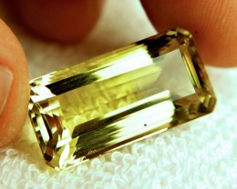 27.01 Carat VVS Lemon Quartz - Cool Stone