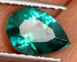 0.65 CTS GREEN QUARTZ FACETED  CG-1871