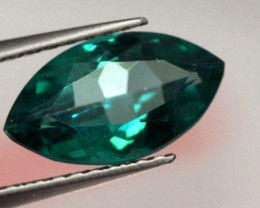 1.55 CTS GREEN QUARTZ FACETED CG-1874
