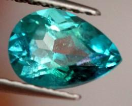 0.85 CTS GREEN QUARTZ FACETED CG-1876