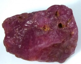 BURMA RUBY ROUGH RICH PINKY  RED 24 CTS RG-1327