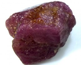 BURMA RUBY ROUGH RICH PINKY  RED 31.5 CTS RG-1330