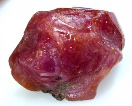 24 cts BURMA RUBY ROUGH RICH PINKY  RED RG-1332
