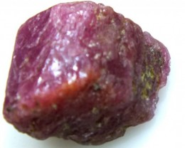BURMA RUBY ROUGH RICH PINKY  RED 21 CTS RG-1339