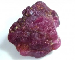 BURMA RUBY ROUGH RICH PINKY  RED 33 CTS RG-1345