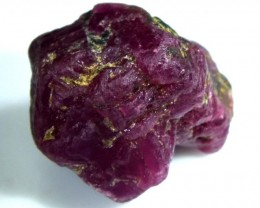 BURMA RUBY ROUGH RICH PINKY  RED 54.5 CTS RG-1350