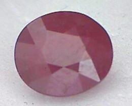 2.38ct Deep Red African Ruby - A beauty - A72