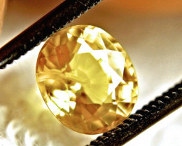 1.81 Carat VS-SI Yellow Sapphire - Superb