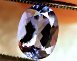 1.80 Carat IF/VVS1 African Purplish Blue Tanzanite