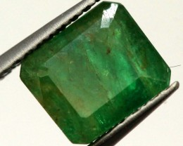 BRAZILIAN EMERALD FACETED STONE 1.2 CTS CG-1880
