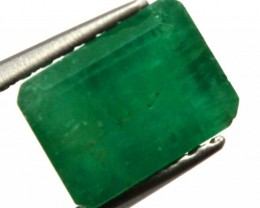BRAZILIAN EMERALD FACETED STONE 1.10 CTS CG-1882