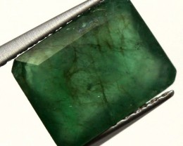 BRAZILIAN EMERALD  FACETED STONE 2 CTS CG-1884