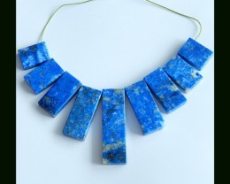 Lapis Lazuli Beads Gemstone Necklace Beads Necklace ,330 Cts